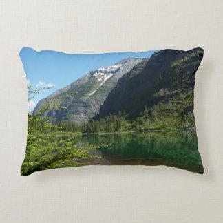 Avalanche Lake II in Glacier National Park Decorative Pillow