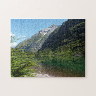 Avalanche Lake II in Glacier National Park Jigsaw Puzzle