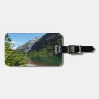Avalanche Lake II in Glacier National Park Luggage Tag