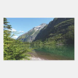 Avalanche Lake II in Glacier National Park Sticker