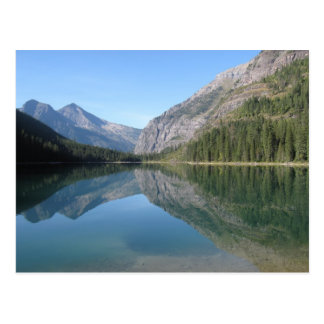 Avalanche Lake Reflection Postcard