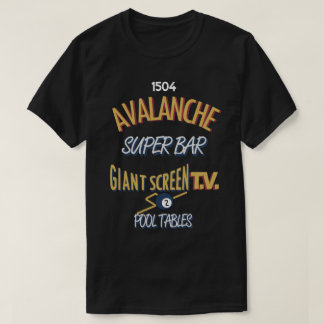 Avalanche Super Bar Marquette - Full Color T-Shirt