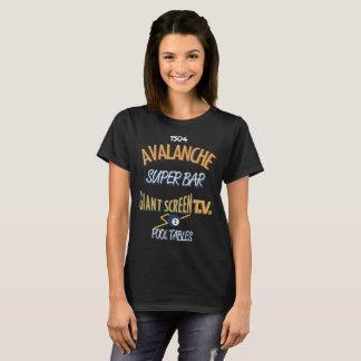 Avalanche Super Bar Marquette - Full Color Women's T-Shirt