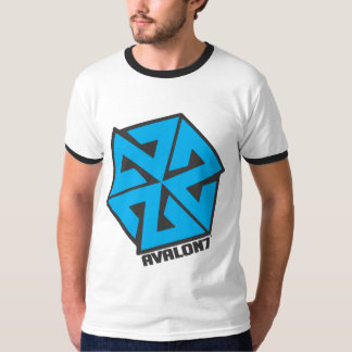 AVALON7 Inspiracon Blue and Black T-Shirt