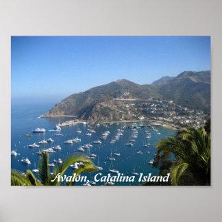 Avalon, Catalina Island Poster