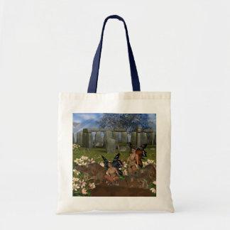 Avalon Guardian Fairys by Moonlake Budget Tote Bag