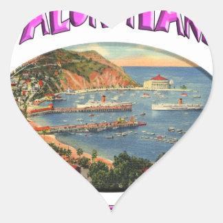 avalon heart sticker