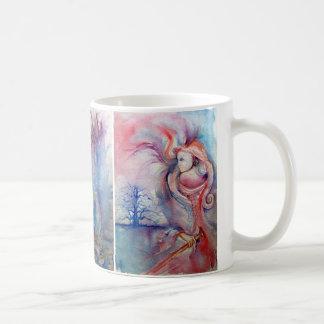 AVALON ,LADY OF THE LAKE ,MORGANA  Magic & Mystery Coffee Mug