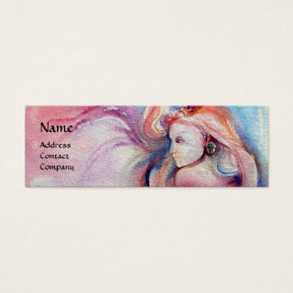 AVALON / Magic and Mystery Pink Blue Fantasy Mini Business Card