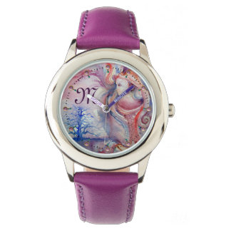 AVALON Magic & Mystery Pınk Blue Fantasy Monogram Watch