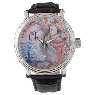 AVALON Magic & Mystery Pınk Blue Fantasy Monogram Watch