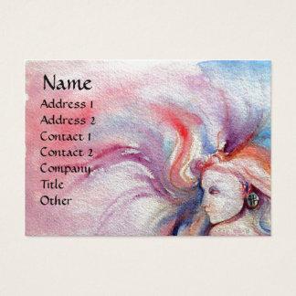 AVALON  / Magic Oak Tree ,pearl paper Business Card