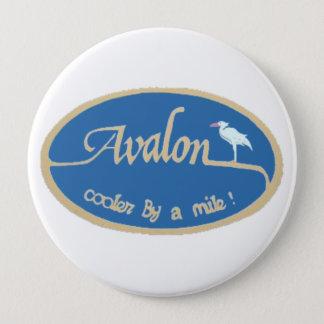 Avalon NJ 4 Inch Round Button
