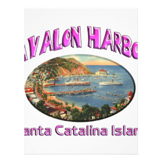avalon personalized letterhead