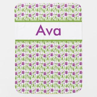 Ava's Personalized Iris Blanket