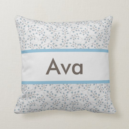 Ava's Personalized Pillow