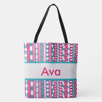 Ava's Personalized Tote