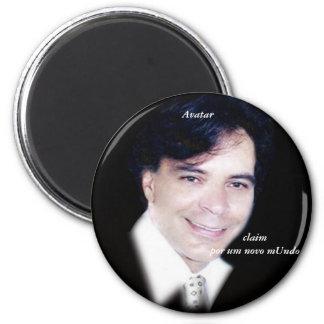 Avatar 2 Inch Round Magnet