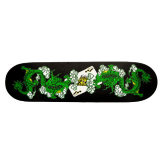Avatar Green Dragons Skateboard
