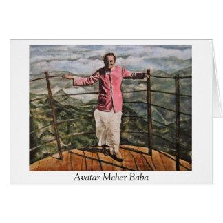 Avatar Meher Baba Card