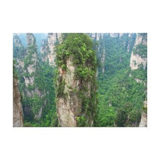 Avatar Mountains Zhangjiajie National Forest Park Canvas Print