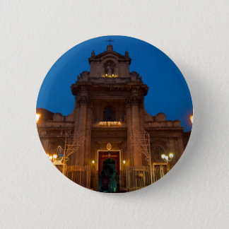 Ave Maria Church in Catania 2 Inch Round Button