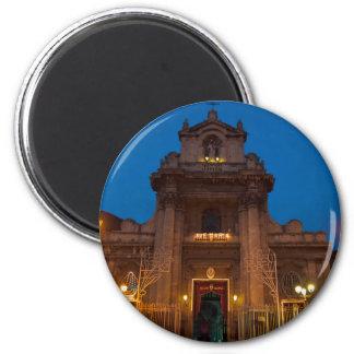 Ave Maria Church in Catania 2 Inch Round Magnet