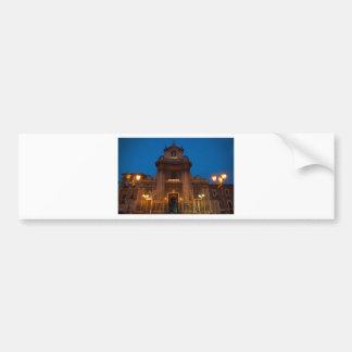 Ave Maria Church in Catania Bumper Sticker
