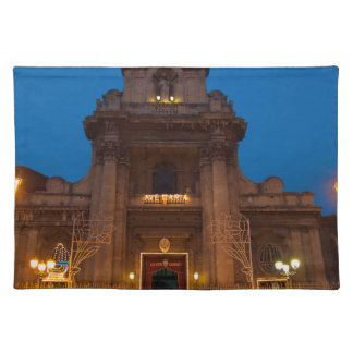 Ave Maria Church in Catania Placemat