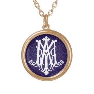 Ave Maria - Latin for Hail Mary - Necklace