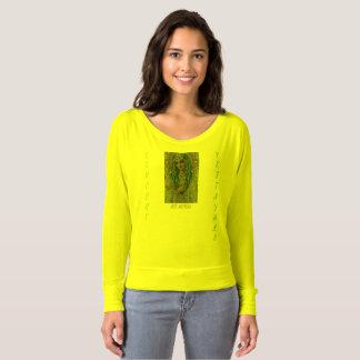 Ave Maria, Women's Bella+Canvas Flowy Off Shoulder T-shirt