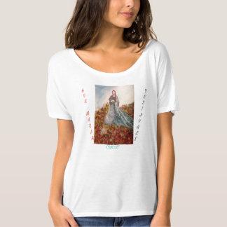 Ave Maria, Women's Bella+Canvas Slouchy T-Shirt