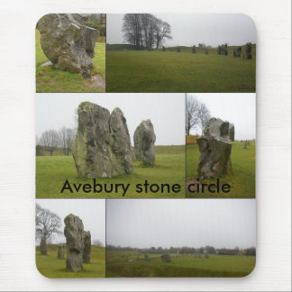 Avebury Collage Mouse Pad