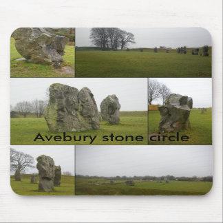 Avebury Collage Mousepad