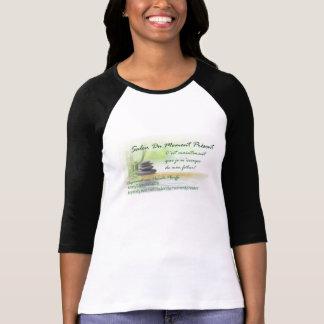 Avec/avec le logo Salon Du Moment Présent T-shirts