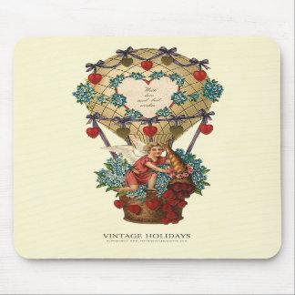 Avec l'amour et meilleurs voeux le Valentine Tapis De Souris