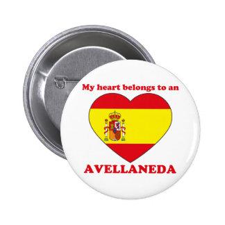 Avellaneda 2 Inch Round Button