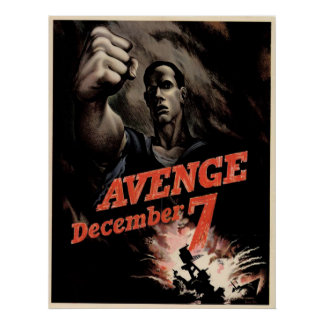 Avenge December 7th Print