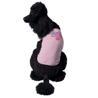 Avenged Pagan Cheeky Witch® Poodle Dog T-Shirt