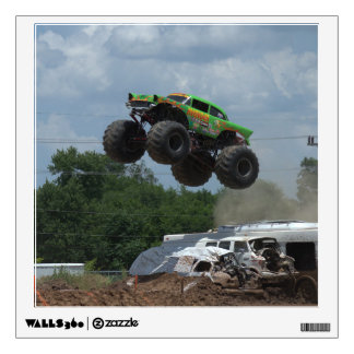 Avenger Monster Truck gets monster air! Wall Sticker