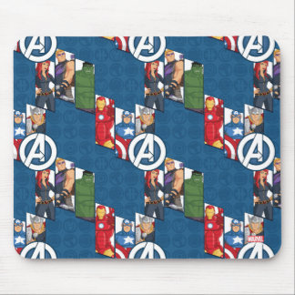 Avengers Assemble Characters Kid Pattern Mouse Pad