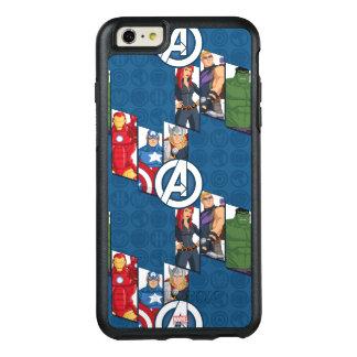 Avengers Assemble Characters Kid Pattern OtterBox iPhone 6/6s Plus Case