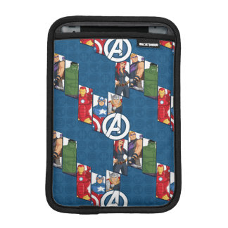 Avengers Assemble Characters Kid Pattern Sleeve For iPad Mini