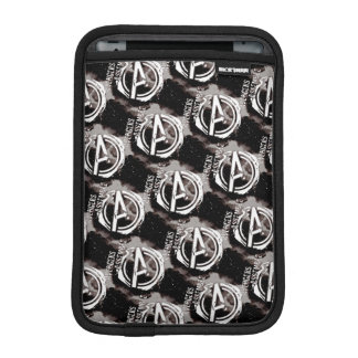 Avengers Assemble Grunge Pattern iPad Mini Sleeves