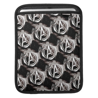 Avengers Assemble Grunge Pattern iPad Sleeves