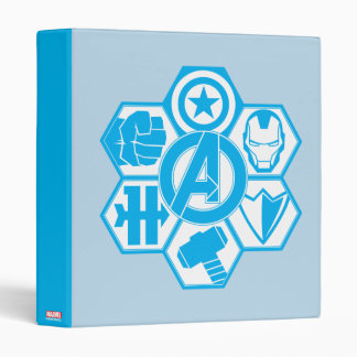 Avengers Assemble Icon Badge Binder