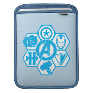 Avengers Assemble Icon Badge iPad Sleeve