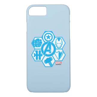 Avengers Assemble Icon Badge iPhone 7 Case
