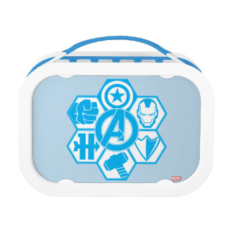 Avengers Assemble Icon Badge Lunchbox