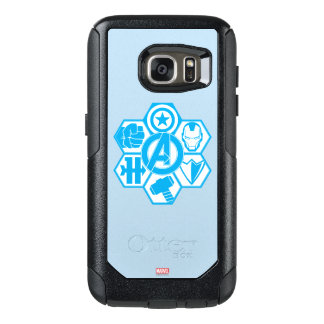 Avengers Assemble Icon Badge OtterBox Samsung Galaxy S7 Case